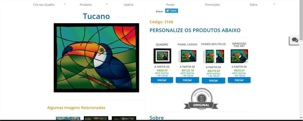 Tucano PrintHD - Comprar Quadros para Sala - Google Chrome