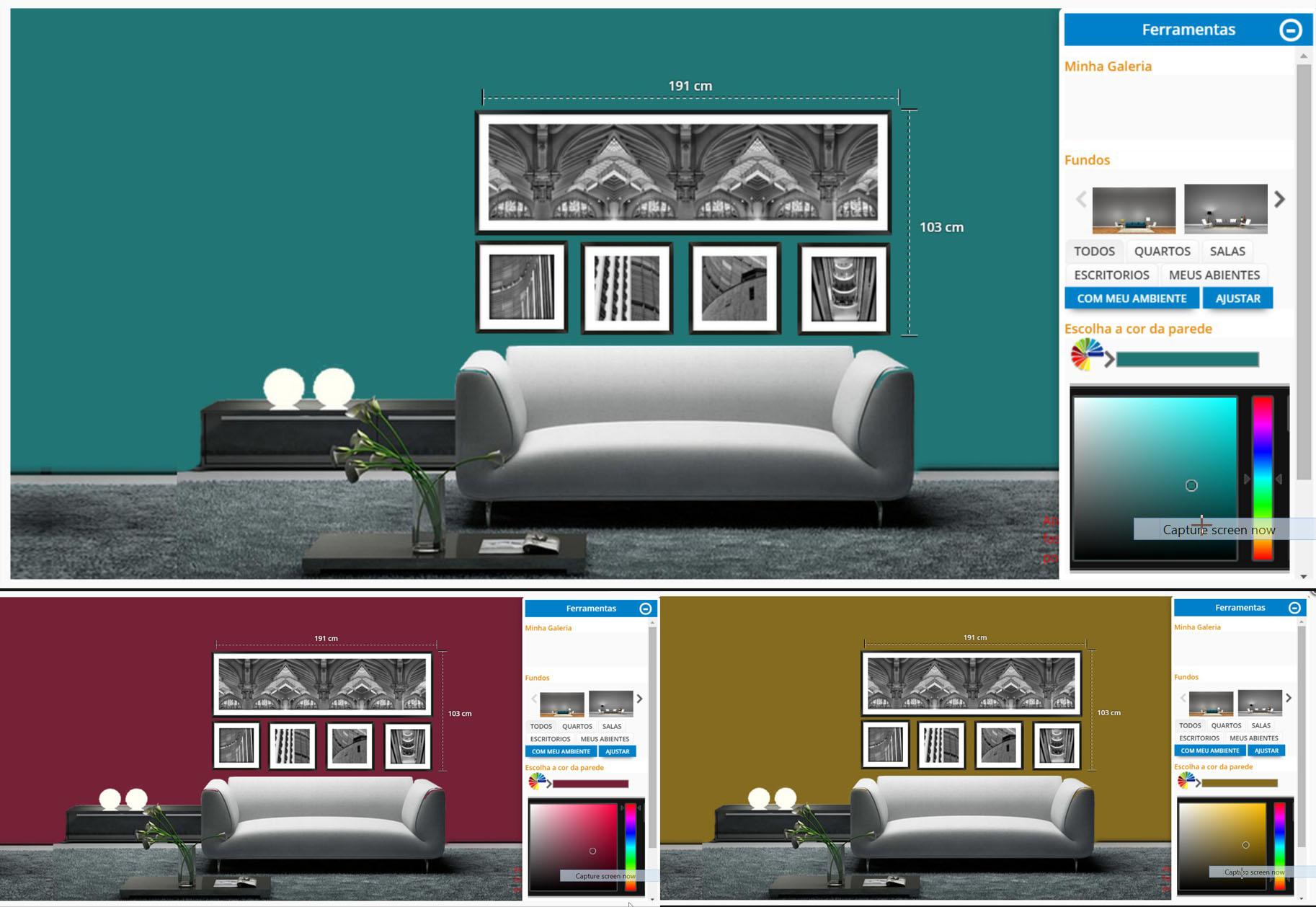 Como fazer quadros personalizados online quadros for Decorar online