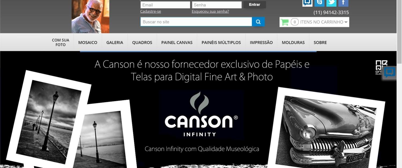 Dorival Moreira - Quadros Personalizados e Impressão Fine Art - Google Chrome