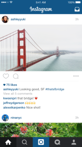 Crie quadros usando as fotos de seu Instagram