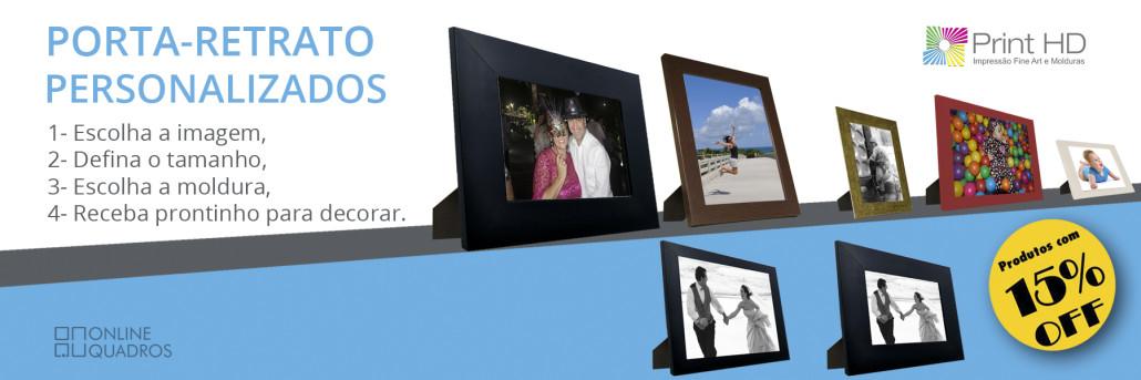 Decoração porta retratos com foto personalizada online