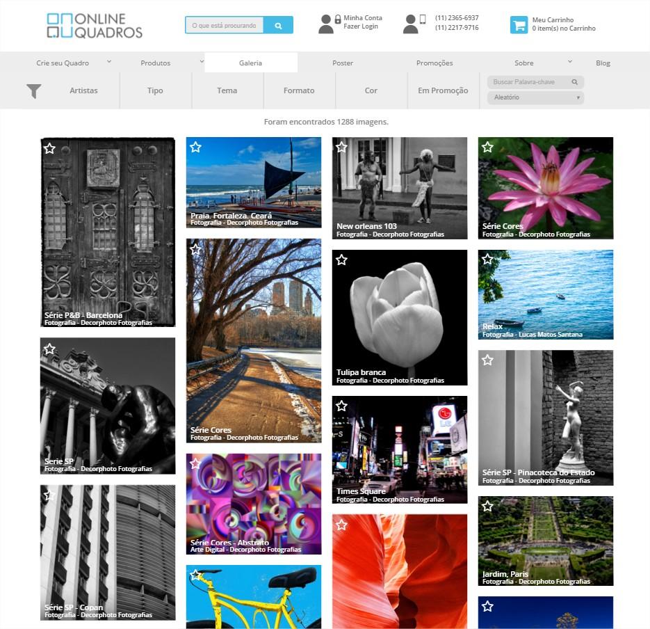 galeria Online Quadros