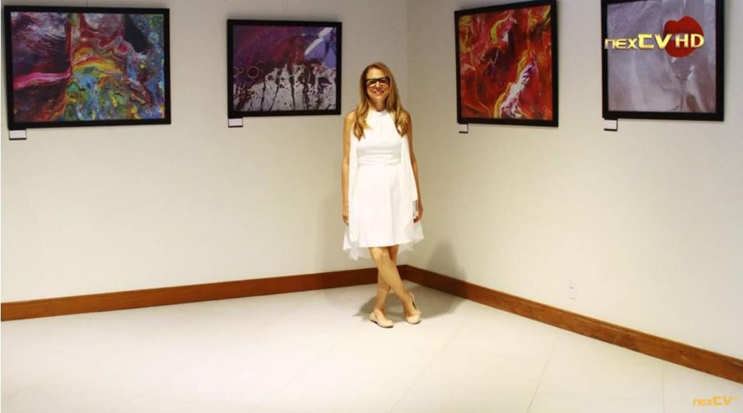 Artista Plástica Glória Rimes Comercializa suas obras em Giclée pela Online Quadros