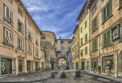 Série Toscana - Lucca à óleo