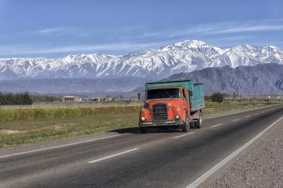 Série Caminhos – Ruta Nacional 7 – Mendoza II