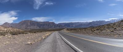 Série Caminhos – Ruta Nacional 7 – Mendoza IV