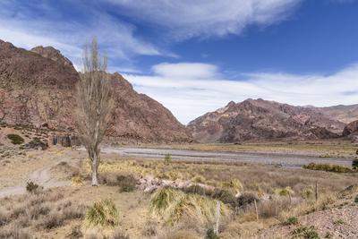 Série Mendoza – Paisagem montanhosa no caminho para o Chile