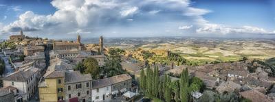 Série Toscana - Montalcino Panorâmica