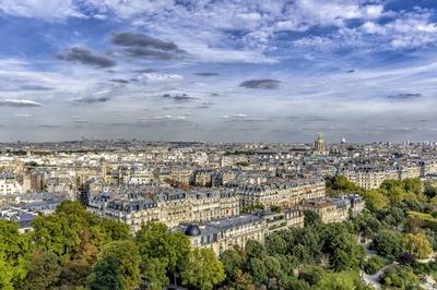 Série Paris - Vista da Torre Eiffel