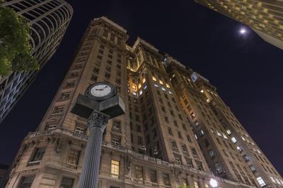 Série São Paulo - Visão Noturna do Edifício Martinelli