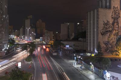 Série São Paulo - Riscos de Spray e de Luz