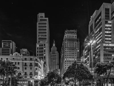 Série São Paulo - Anhangabaú à noite