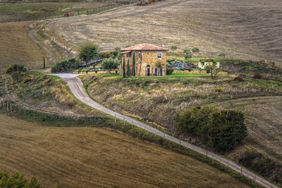 Série Toscana - Vila na Toscana
