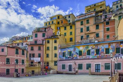 Série Cinque Terre - Graffiti in Riomaggiore