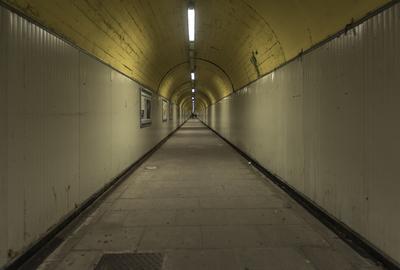 Série Caminhos - Túnel Cinza
