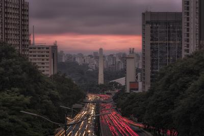 Série São Paulo - As cores da Av. 23 de maio
