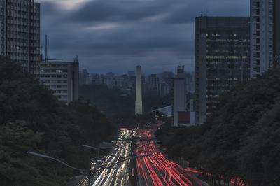 Série São Paulo - As cores da Av. 23 de maio II