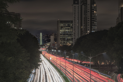 Série São Paulo - As cores da Av. 23 de Maio III
