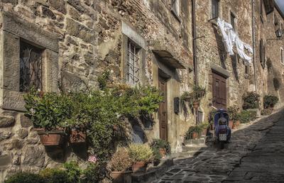 Série Toscana - Casas de Cortona