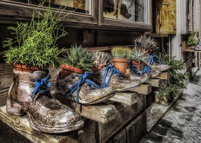 Série Toscana - Sapatos de Segunda Mão