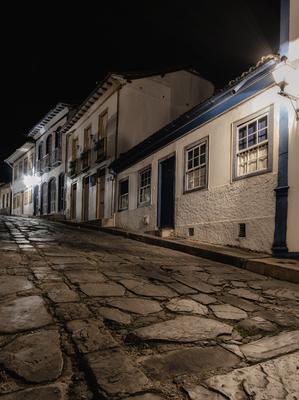 Série Minas Gerais - Diamantina à noite