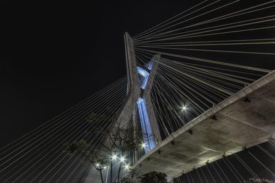Série São Paulo - Ponte Estaiada Noturna