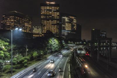 Série São Paulo - Marginal Pinheiros e os trens