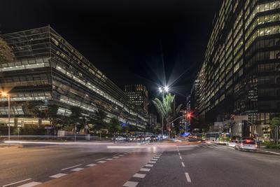 Série São Paulo - Faria Lima à noite