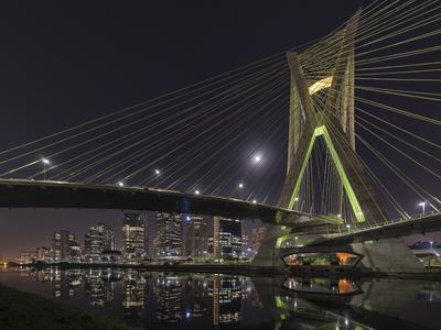 Série São Paulo - Marginal Pinheiros e Ponte Estaiada