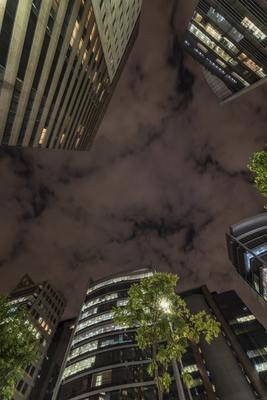 Série São Paulo - Noturna de edifícios na capital II