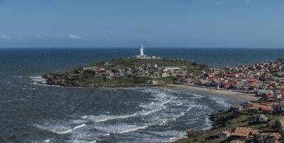 Série Faróis - Panorâmica do Farol de Santa Marta, Laguna, Santa Catarina, Brasil
