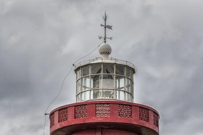Série Faróis - Alto da torre do Farol de Chuí, Barra do Chuí, Rio Grande do Sul, Brasil