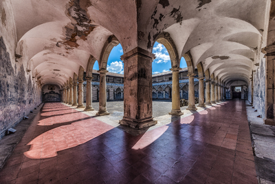 Série Salvador – Corredores do Claustro do Mosteiro de São Francisco, Bahia
