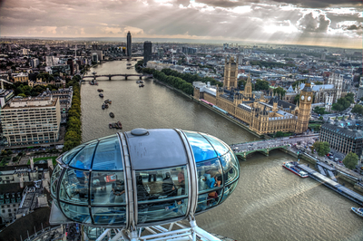 Série Londres - London Eye