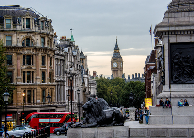 Série Londres - Trafalgar Square