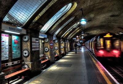 Série Londres - Metro