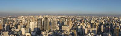 Série São Paulo - Foto Panorâmica do Centro de São Paulo