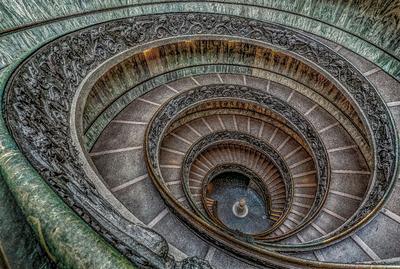 Série Degraus - Escada do Museu do Vaticano
