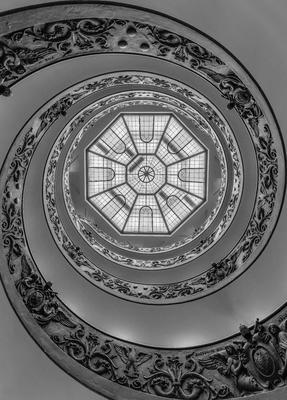 Série Degraus - Vista de Baixo da Escadaria do Vaticano - PB
