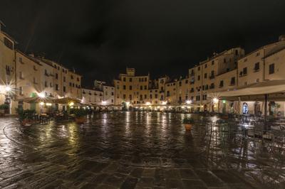 Série Toscana - Lucca depois da chuva