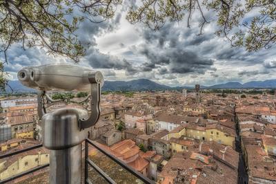 Série Toscana - Lucca - Os olhos da Torre Guinigi
