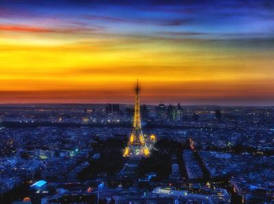 Série Paris - Cidade Luz