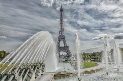 Série Paris - A Torre e o Chafariz