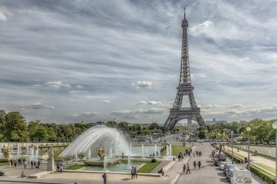 Série Paris - A Torre e o Chafariz 2