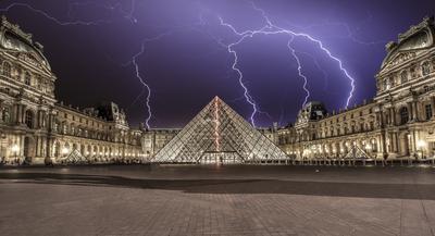 Série Paris - Louvre Elétrico