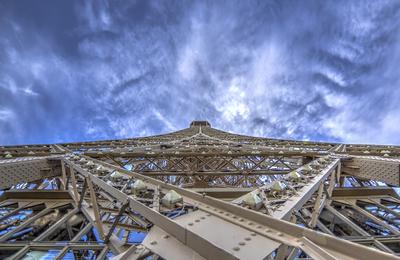 Série Paris - Torre Eiffel Close