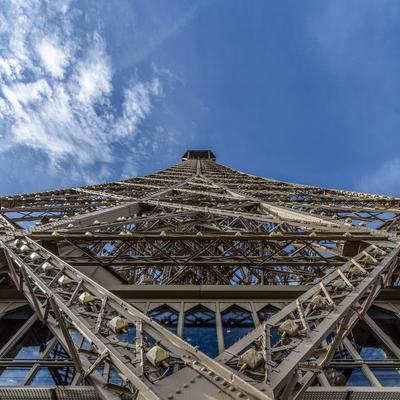 Série Paris - Torre Eiffel Close - Quad