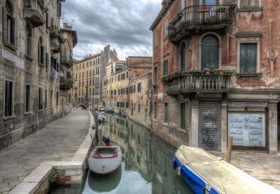 Série Veneza - Canais de Veneza