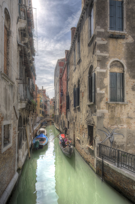 Série Veneza - Canais de Veneza III