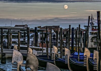 Série Veneza - Luar em Veneza